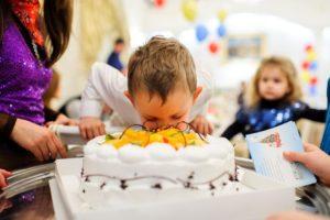 торт на детский день рожденья