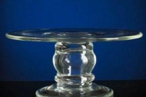 Тарелка на ножке для пирожных 25/10 см 2 шт. 40 грн./шт.