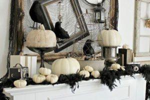 Примеры работ по оформлению хеллоуина