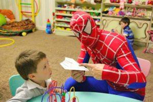 Человек паук и супергерои