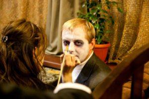 Оформление хэллоуина в Харькове