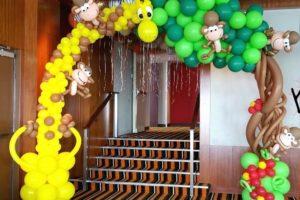 Арки из воздушных шариков