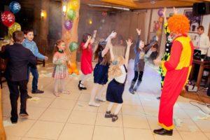клоун для детей