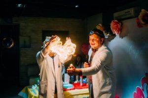 Научное шоу в Харькове, заказ артистов