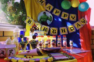 Тематический день рождения
