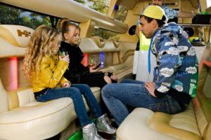 Фотографии в лимузине Хаммер