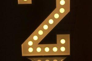 Светящаяся цифра