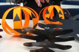 элементы декора Хеллоуина